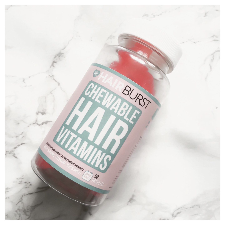 Hair Burst Chewable Heart Vitamins