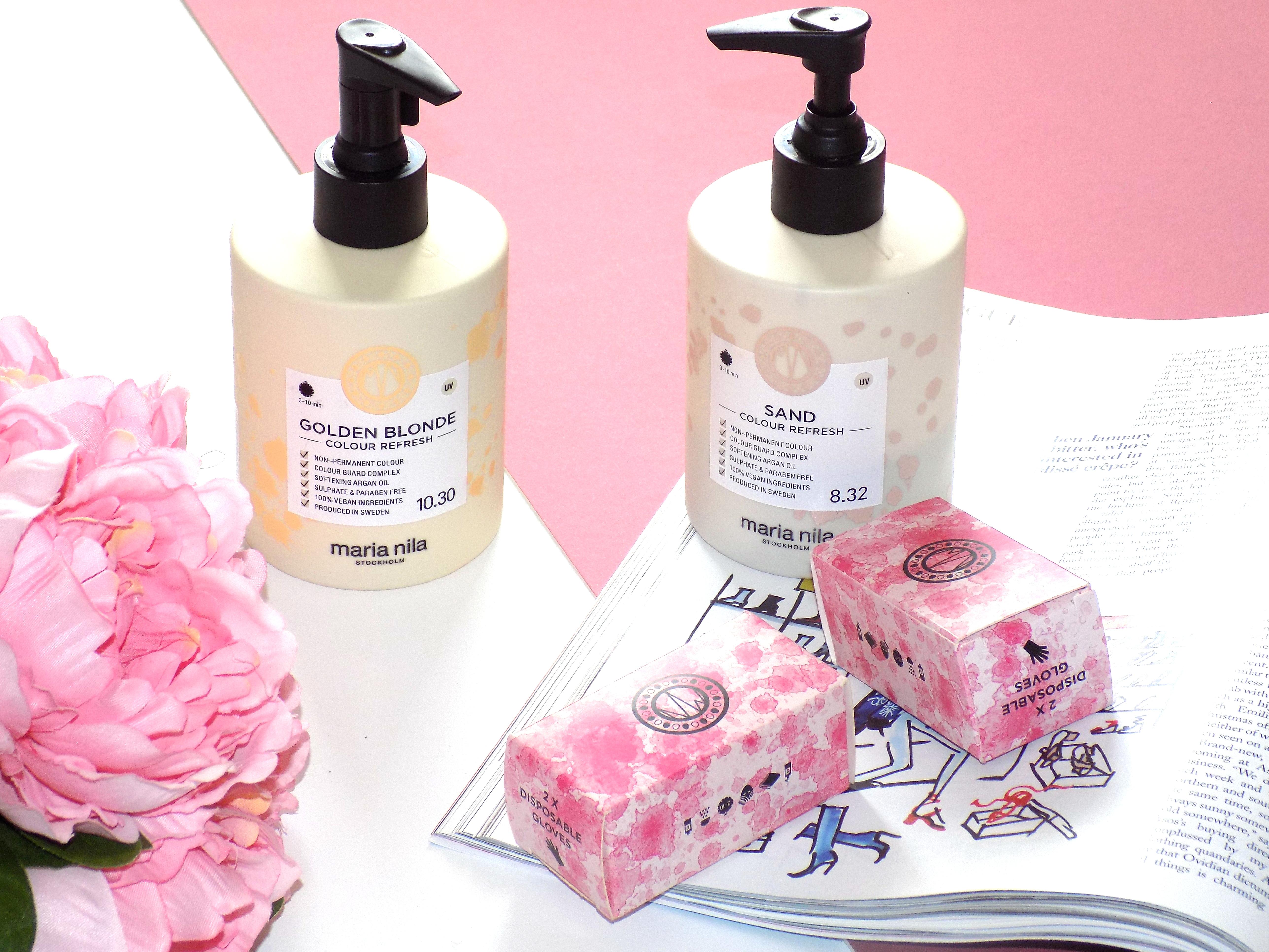 Maria Nila Colour Refresh Little Blonde Blog X