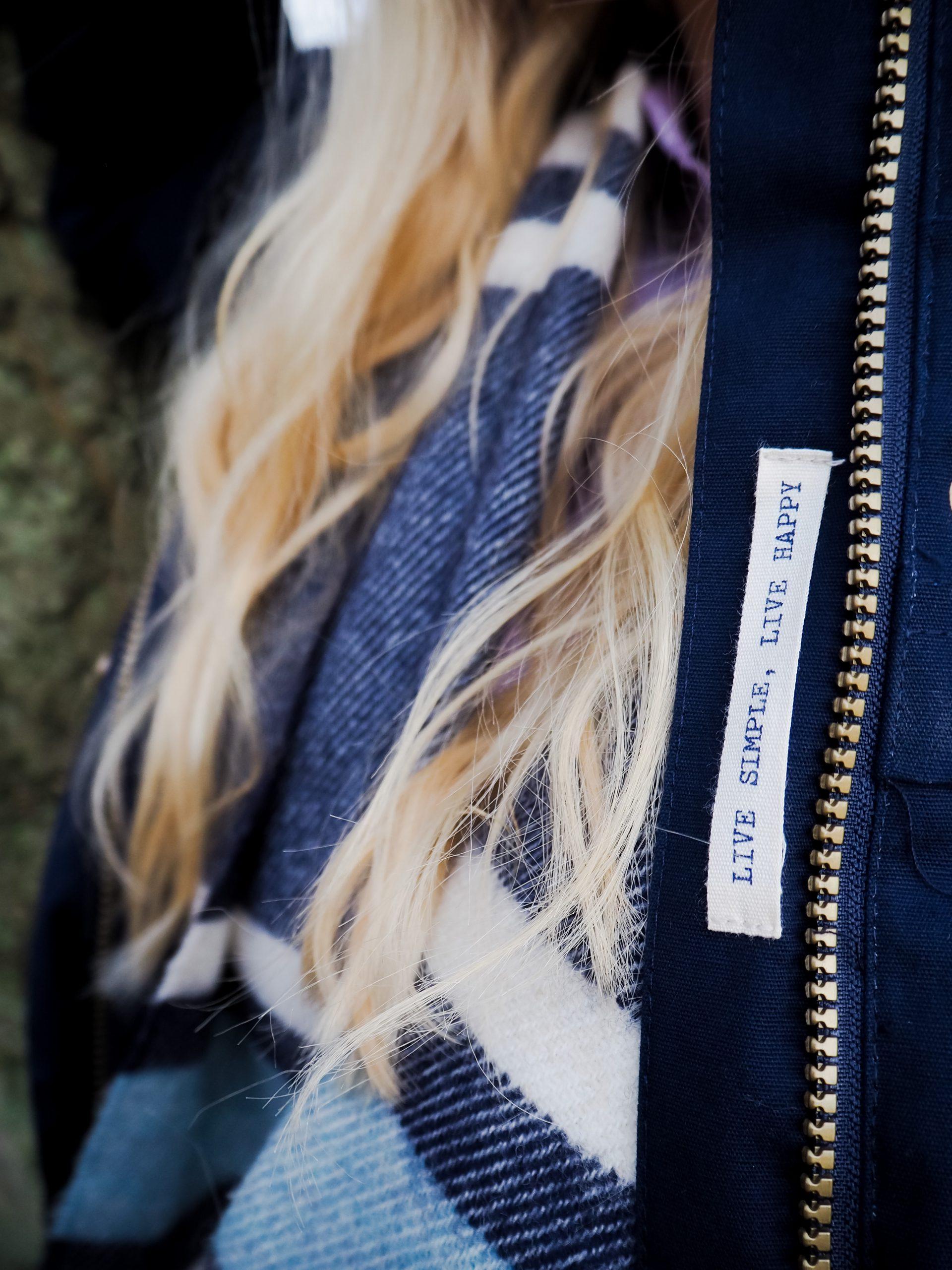 Little Blonde Blog x in Ashridge Forest in Alanna Coat