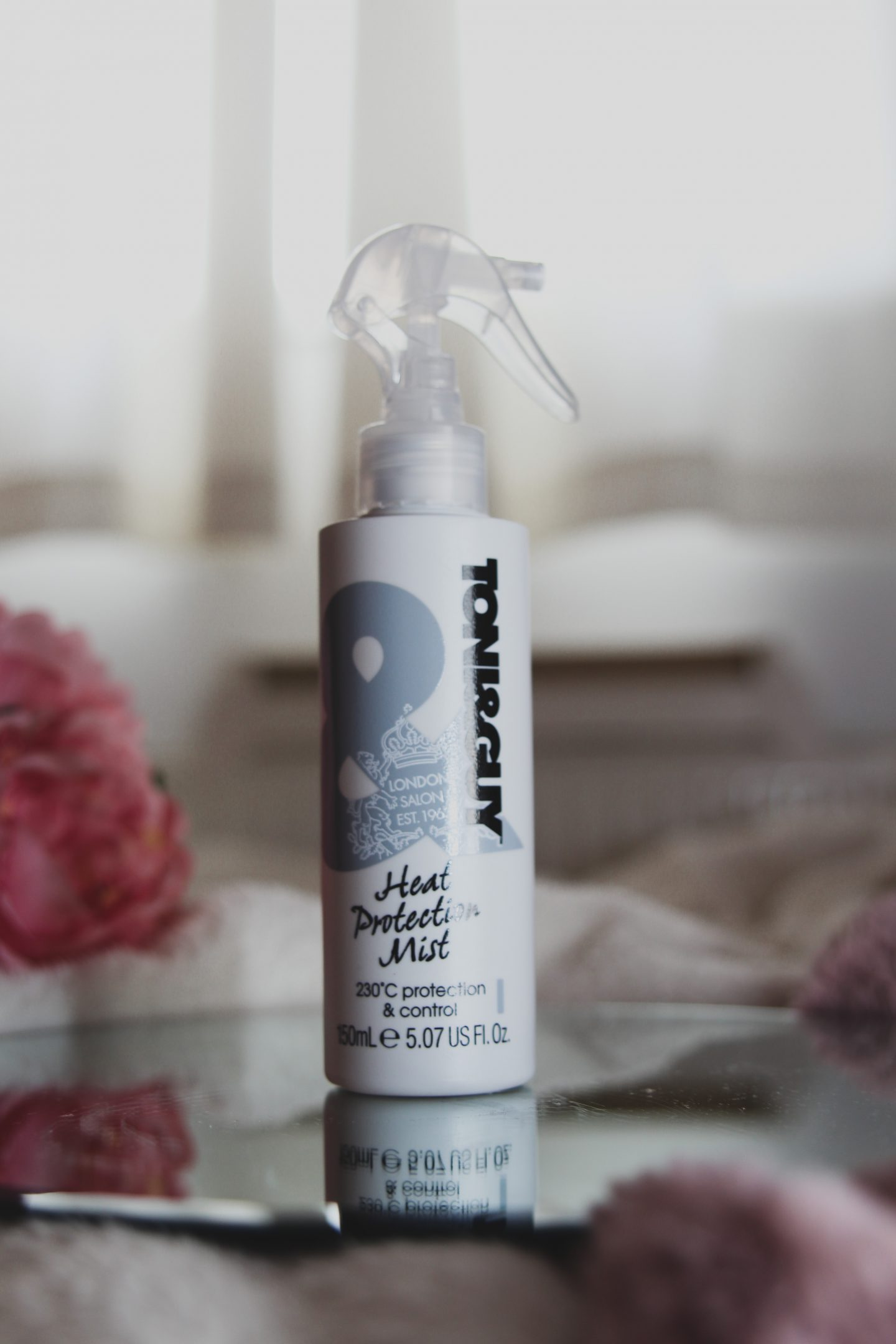Toni & Guy Heat Protection Mist - Little blonde blog x